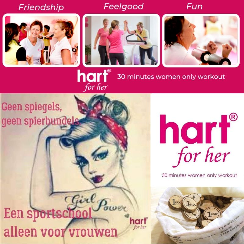 hart for her collage